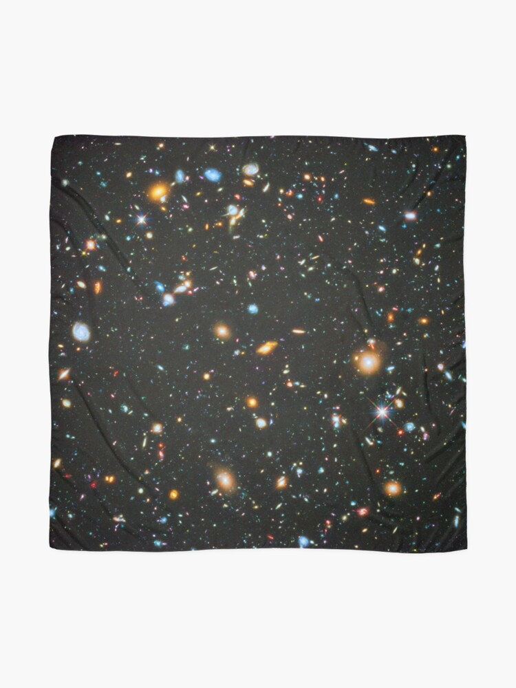 Alternate view of Hubble Extreme Deep Field Landscape Scarf