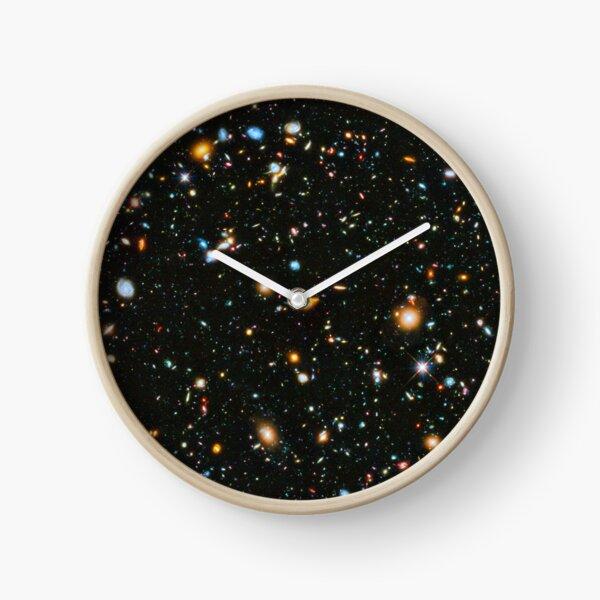 Hubble Extreme Deep Field Landscape Clock