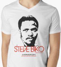 Steve Biko - Afrian Hero Men's V-Neck T-Shirt