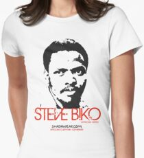 Steve Biko - Afrian Hero Women's Fitted T-Shirt