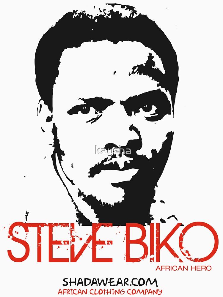 Steve Biko - Afrian Hero | Unisex T-Shirt