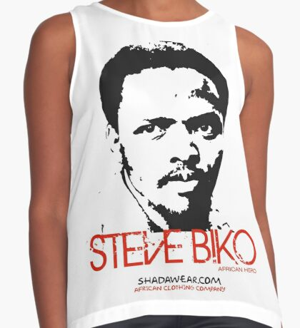 Steve Biko - Afrian Hero Contrast Tank