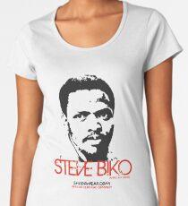 Steve Biko - Afrian Hero Women's Premium T-Shirt