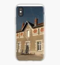 Cellettes Railway Station, France, Europe 2012 iPhone Case