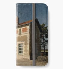 Cellettes Railway Station, France, Europe 2012 iPhone Wallet/Case/Skin