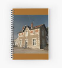 Cellettes Railway Station, France, Europe 2012 Spiral Notebook
