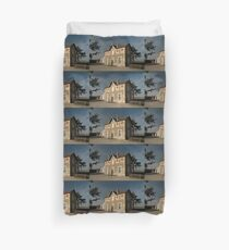 Cellettes Railway Station, France, Europe 2012 Duvet Cover