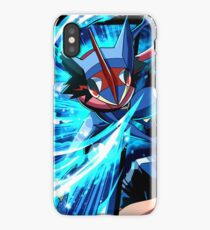 Pokemon Greninja Battle iPhone Case