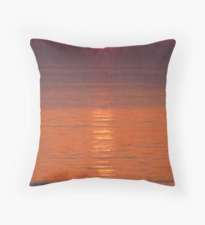 California U.K. Sunrise Throw Pillow