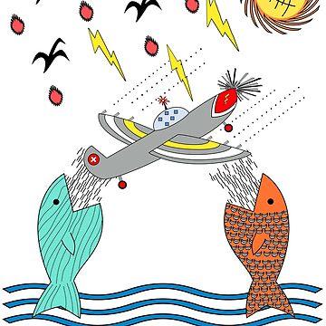Fish Food by 2HivelysArt