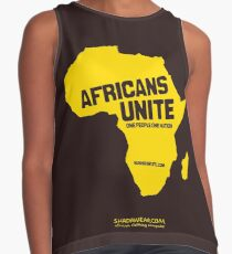Africans unite Contrast Tank