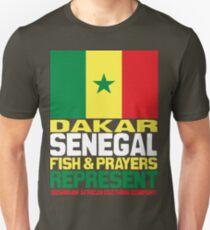 Dakar, Senegal, represent Unisex T-Shirt