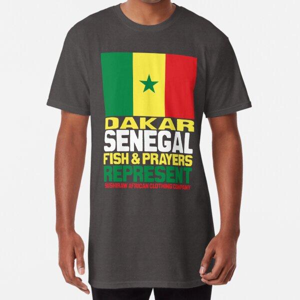 Dakar, Senegal, represent Long T-Shirt
