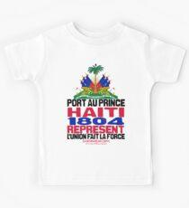 Haiti represent Kids Tee