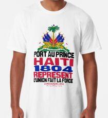 Haiti represent Long T-Shirt