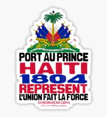 Haiti represent Sticker