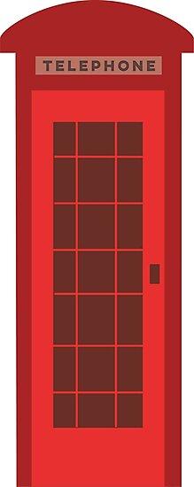 British red telephone booth by kararoberts