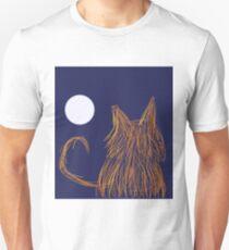 Moon Over MyKitty Unisex T-Shirt