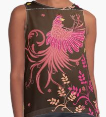Rooster Fighting Contrast Tank