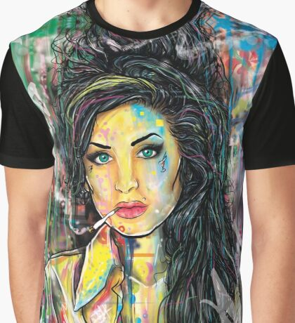 Ms. Winehouse Graphic T-Shirt