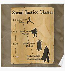 Social Justice Level: God-Empress Poster