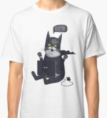 Geek Cat Classic T-Shirt