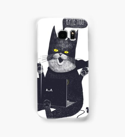 Geek Cat Samsung Galaxy Case/Skin