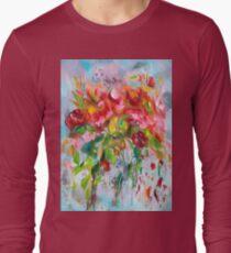 Pink Abstract - II Long Sleeve T-Shirt