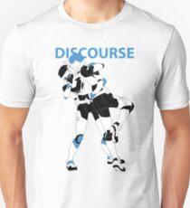 Blue Discourse Unisex T-Shirt