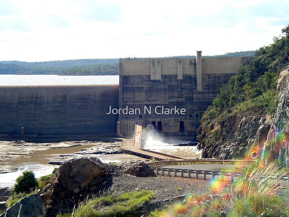 Burdekin Dam Wall by Jordan N Clarke