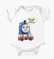 "Cheeky Thomas ""What ugly wheels you've got"" One Piece - Short Sleeve"
