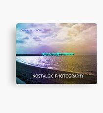 Nostalgic Photography Challenge Gagnant Bannière Impression sur toile
