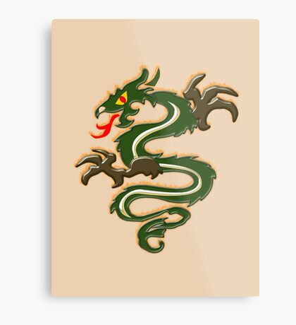 Dragon  (6563 Views) Metal Print
