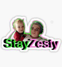 Stay Zesty Stickers Sticker