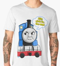 "Cheeky Thomas ""Silly Stick-in-the-mud!"" Men's Premium T-Shirt"