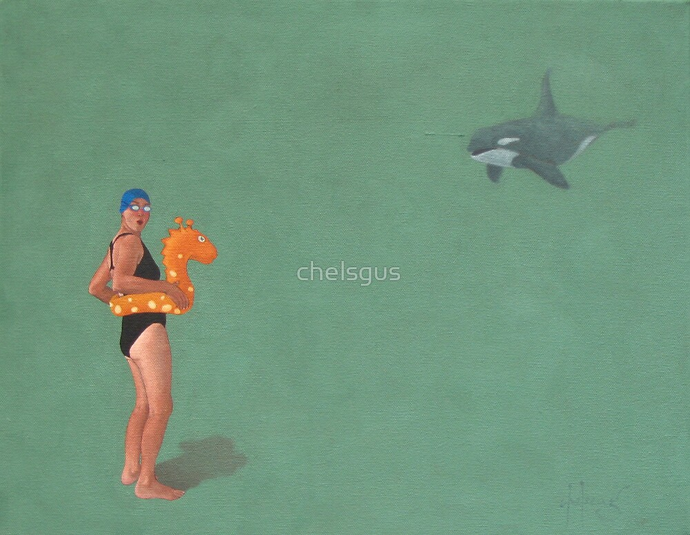 The swimmer by chelsgus
