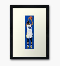 3 point Curry Framed Print