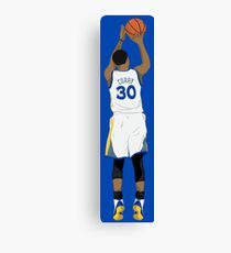 3 point Curry Canvas Print