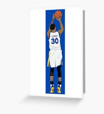 3 point Curry Greeting Card