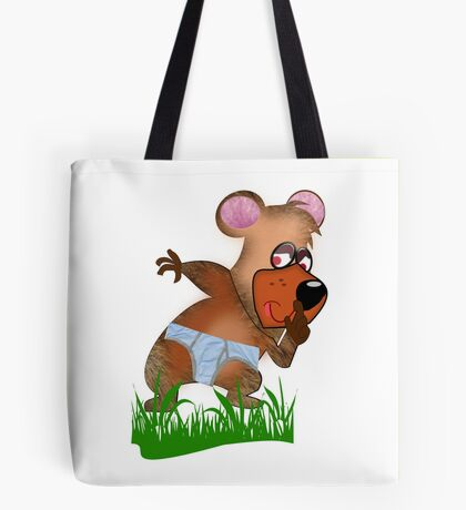 Shh.. Bear Has News! (Playing Dress UP)   (5883  Views ) Tote Bag