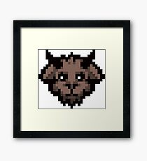 The Binding of Isaac | Goat Head Framed Print