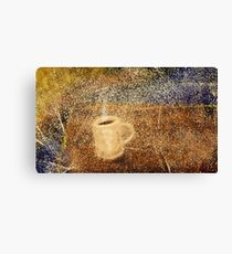 First Cup Canvas Print