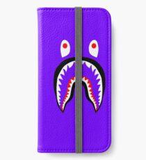purple bape iPhone Wallet/Case/Skin