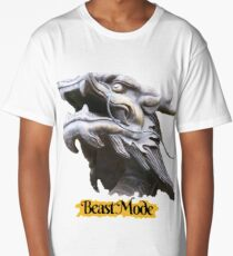 COOL BEAST MODE FUNNY QUOTE DRAGON FANTASY Long T-Shirt