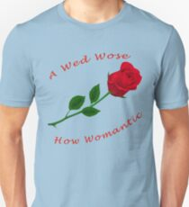 A Red Rose Unisex T-Shirt