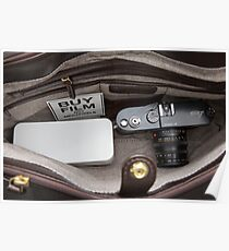 [•] Japan Camera Hunter Film Case and a Leica MP  Poster