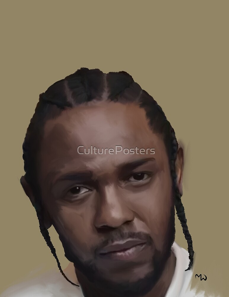 Compton King Kendrick K Dot by CulturePosters