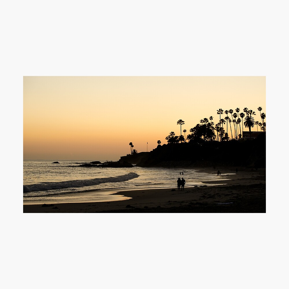 Laguna Beach Walk Photographic Print
