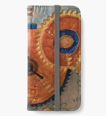 STEAMPUNK FANTASY GEARS, ONCE UPON A TIME FUNNY QUOTE iPhone Wallet/Case/Skin