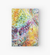 HOOKED ON FISHING FUNNY QUOTE Hardcover Journal